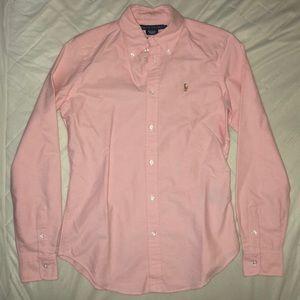 Ralph Lauren Super Slim Fit Oxford in Pink sz 6